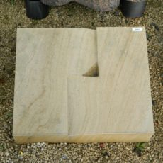 20203 Liegestein Teakwood Form P25 50x40x20-10cm