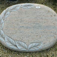 20216 Liegestein Raw Silk Form L117C 60x45x8cm