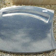 20226 Liegestein Indisch Black Form JKL11-13 50x40x14cm