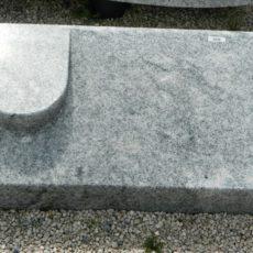 20230 Liegestein Wiskont Weiss Form P5 60x35x20-10cm