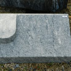 20232 Liegestein Wiskont Weiss Form P5 60x35x20-10cm