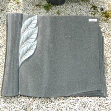 20267 Liegestein Indisch Black Form SCHR13B 50x40x6cm