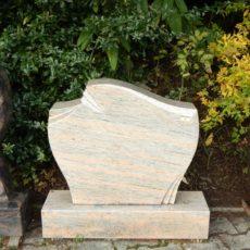 0014 Oberteil Raw Silk Form 1447B 65x14x55cm 75x14x20cm