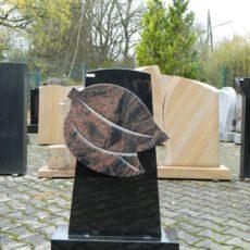 0101 Oberteil Indisch Black - Kastania Form 1346 45x14x80cm 50x6x42cm 60x20x14cm