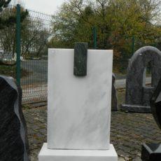 0134 Oberteil Marmor Dorfer Gruen Ohne Form 50x14x80cm 25x14x8cm 60x25x14cm