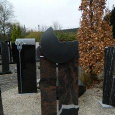 0216 Oberteil Kastania Indisch Black Form 14 14 25x14x110cm 20x14x107cm
