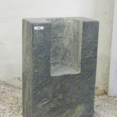 0334 Oberteil Dorfer Gruen Ohne Form 30x15x50cm