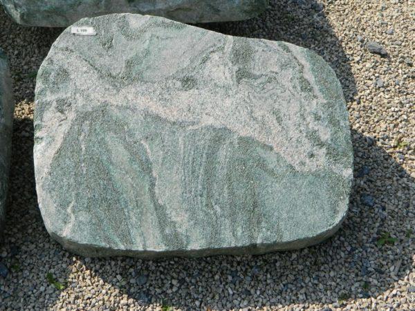 L 199 Liegestein Atlantis Gebrannt 50x40x12cm