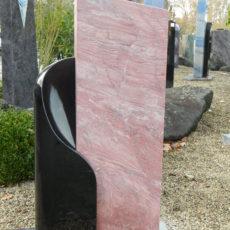 0593 Oberteil Indisch Black Luna Red Poliert Gebuerstet Form 22 13 24 X 16 X 75cm 35 X 14 X 100cm 65 X 24 X 8cm