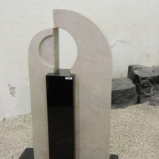 0534 Oberteil Indisch Black Gohara Limestone Poliert Form AB 16 11 16x14x89cm 34x14x100cm 16x18x62cm 70x25x6cm