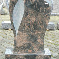 0548 Oberteil Kastania Poliert Matt Form 15 17 A 50x14x75cm 60x20x14cm