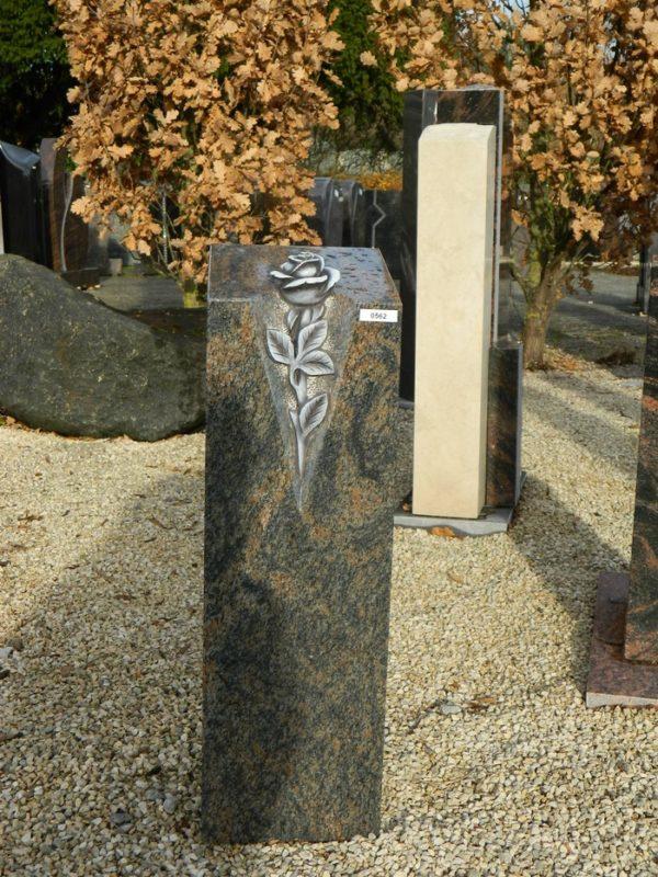 0562 Oberteil Halmstad Poliert Form 32 17 Ornament 20x20x66cm