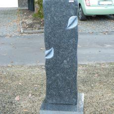 0694 Oberteil Steel Grey Poliert Form 12 18 Ornament 30x14x100cm.