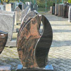 0708 Oberteil Kastania Indisch Black Poliert Gestockt Form JK 46 14 38x14x85cm 28x16x85cm 60x20x14cm