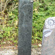0786 Stele Blue Moon Poliert Rechteckig 25x14x110cm