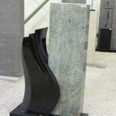 0893 Oberteil Indish Black Blue Riff Form 16 19 30x14x95cm 36x14x74cm 65x25x6cm