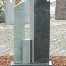 0918 Oberteil Virginia Black Dorfer Gruen Form AB 16 01 15x12x92cm 28x12x100cm 14x12x35cm 60x25x6cm
