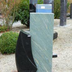 0925 Oberteil Ind.Black Dorfer Gruen Form 15 19 35x14x95cm 35x14x70cm
