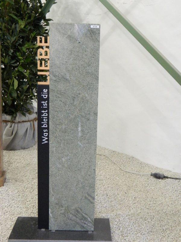 SF 0086 Oberteil Indish Black Costa Esmeralda Form SF 2016.01 24x12x100cm 6x13x80cm