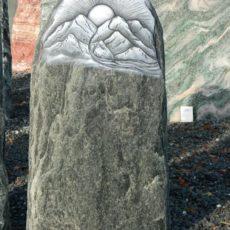 S 141 Felsen Serpentin 36x12x72cm